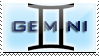 Gemini Stamp by RSR-Productions