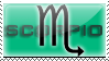 Scorpio Stamp by RSR-Productions