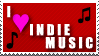 Indie Music Stamp by RSR-Productions