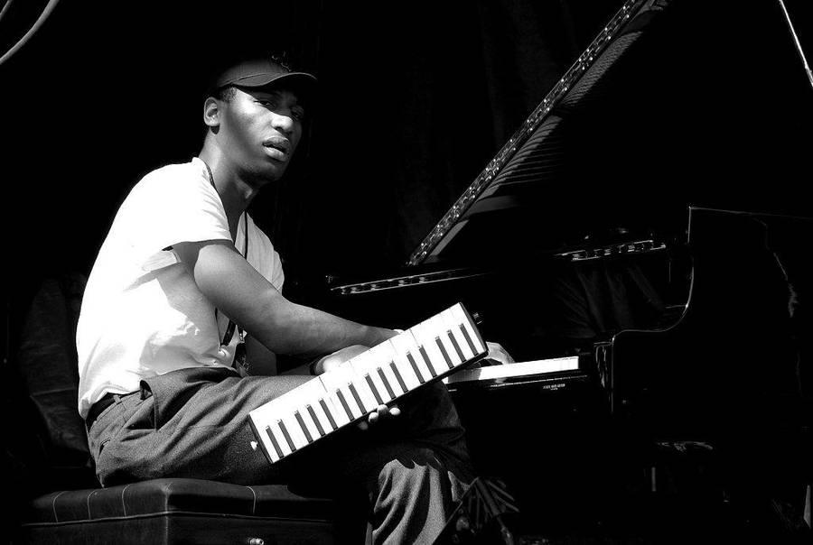 Pianist Jonathan Batiste by BenoitAubry