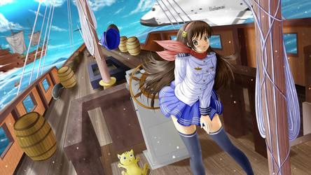 Sky ship by ilolamai