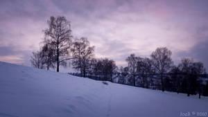 Winter scene 1 by JoeGP