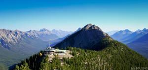 Sulfur Mt. Gondola Station by JoeGP