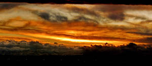 Clouds on fire by JoeGP