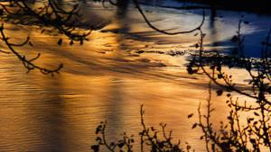 Sunset reflection by JoeGP