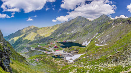 Balea Lake HDR Pano by JoeGP