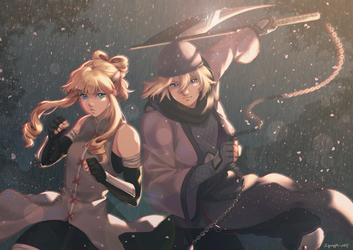 CM - Ami et Kyo by Squaffle