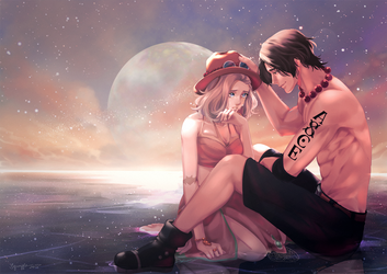 CM - Sora et Ace by Squaffle
