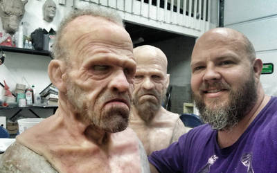 Silicone Mask: Merle Dixon by EscapeDesignFX