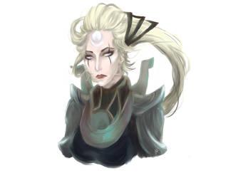 League of Legends: Diana by Naz-ish-Oreosaawwr