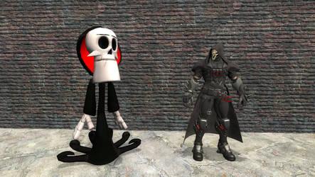Grim and Reaper by Primon4723