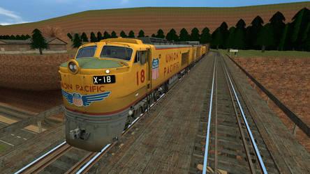 Union Pacific Gas Turbine Electric Locomotive by Primon4723