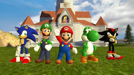 Super Mario Bros. Z by Primon4723