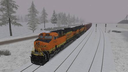 BNSF ES44DC by Primon4723
