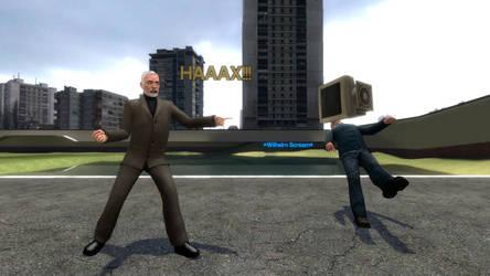 PC/Dr. Hax vs Mac Gmod Idiot Box 10th Anniversary by Primon4723