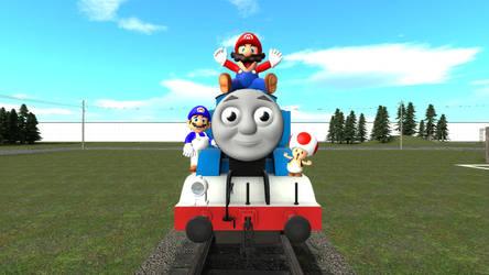 Mario's Train Trip by Primon4723