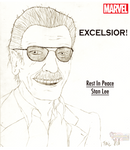 EXCELSIOR! For Stan Lee by Omnimon1996