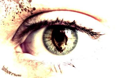 burn in my eyes by gjonika