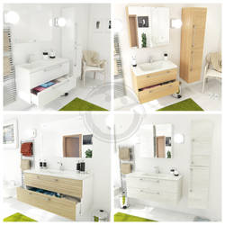 Bathroom Cabinets by gjonika