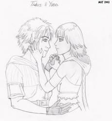 Tidus and Yuna by Invi16