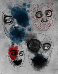 Four Faces of Agony by soliiman