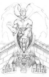 Angel of Shadow - Pencils by BrianGermain