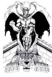 Angel of Shadow - Inks by BrianGermain