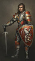 Knight by Bahlor