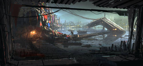 Water City by 2buiArt