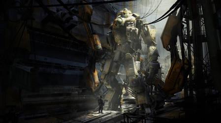 Titan Factory, Militia by 2buiArt