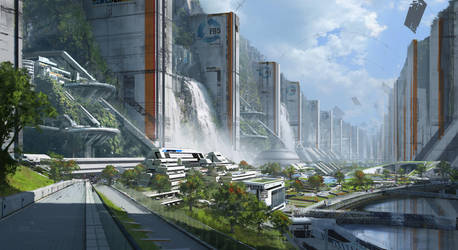 Canyon city 01 by 2buiArt