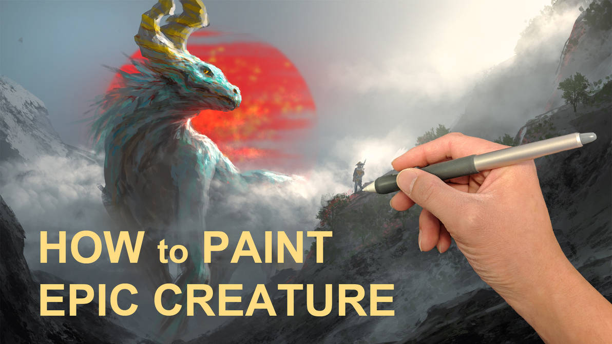 Paint Demo - EPIC creature by 2buiArt