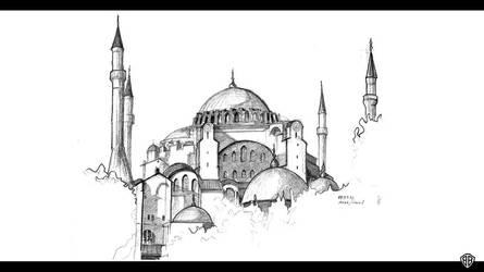 Hagia Sophia by bozwolfbros