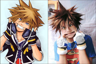Sora-Funny Face by Qwaseer