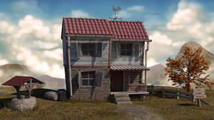 Cartoon House by skulaksiz