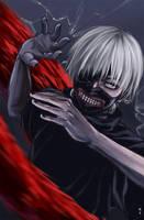 Tokyo Ghoul by rainbowLU