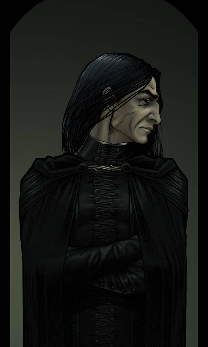 Snape in a Cape by Lithrael