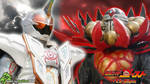 Kamen Rider Ghost Splash #3: Mugen VS P. Ganmizer by DaVinci030