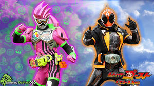 Kamen Rider Ghost Splash #4: ...with Ex-Aid by DaVinci030