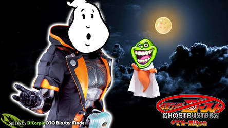 Kamen Rider Ghost-busters Splash by DaVinci030