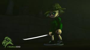 [SFM] Inkling Swordsman by DaVinci030