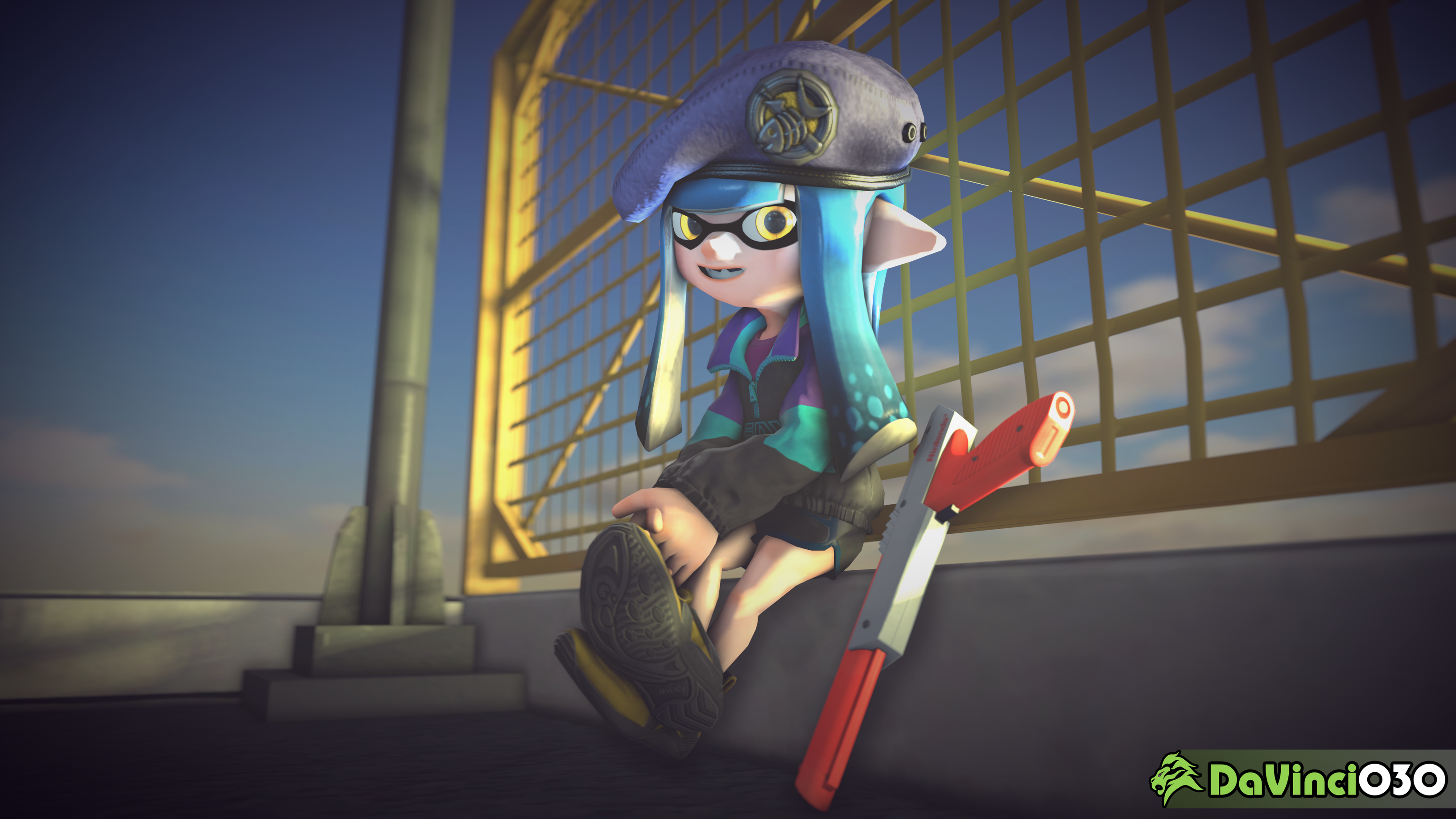[SFM] Sitting and relaxing... by DaVinci030