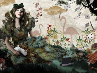 Alice in Wonderland by atmosphair3
