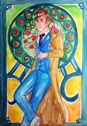 Doctor Who- Commission In Full by brilliant-beatrice