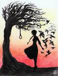 Hanging Tree by La-Chapeliere-Folle