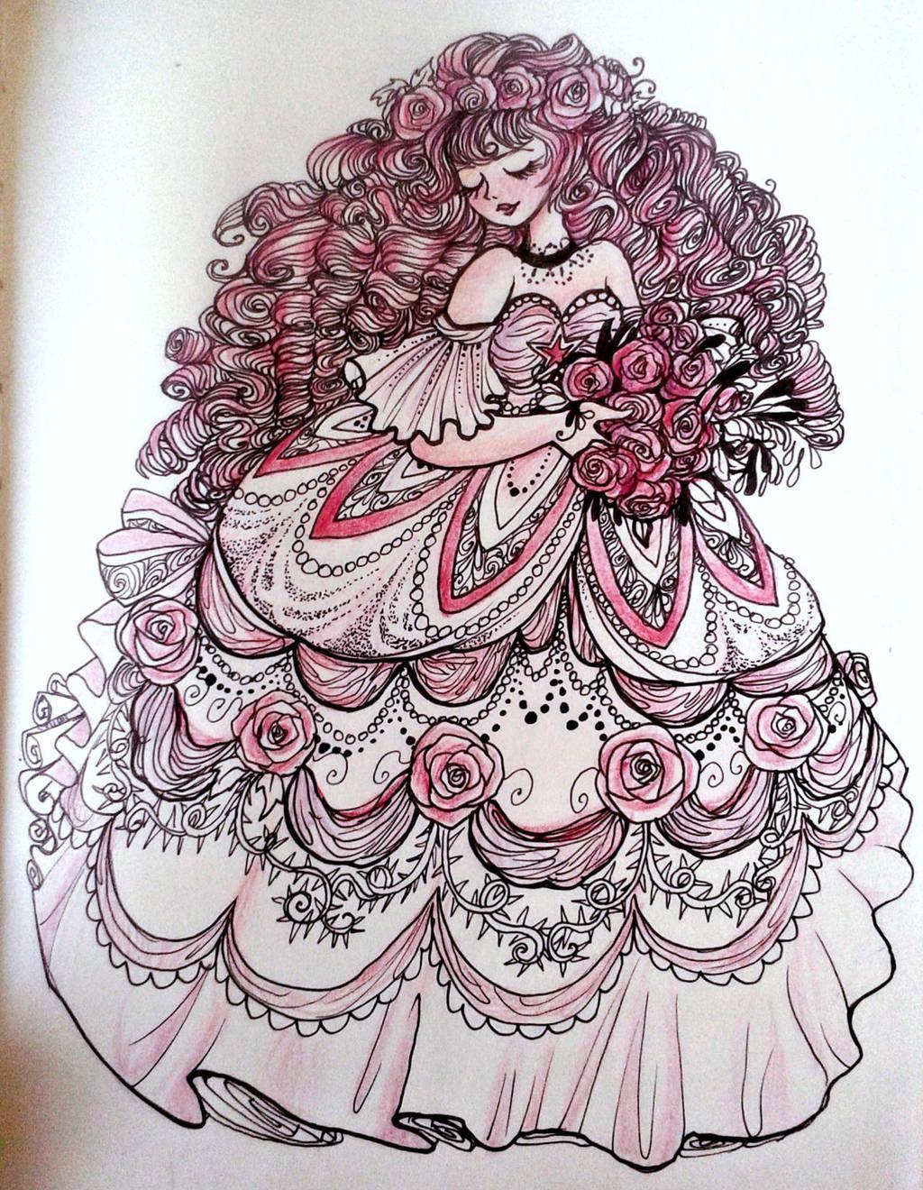 Rose Quartz by La-Chapeliere-Folle