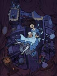 Down the Rabbit Hole by La-Chapeliere-Folle
