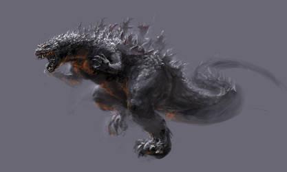 Godzilla concept by Chongo-zilla
