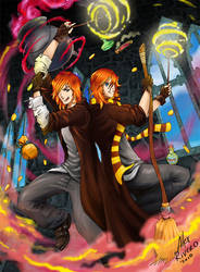 Weasley Magic Party by Alexlapiz