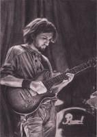 Gitarist (portrait) by Saules-dievas